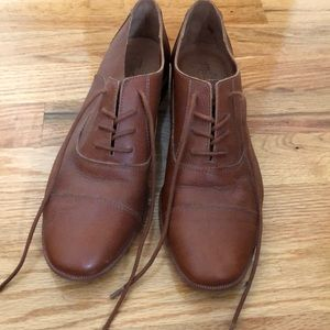 Madewell leather oxfords